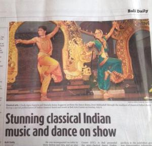 article odissi at bali art july 2014