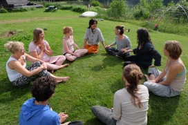 be woman retreat borntorpet shambala gatherings sharada